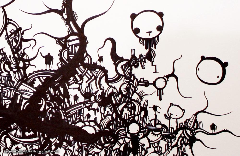 Big Doodle 2 Artwork By Lawrence Yang