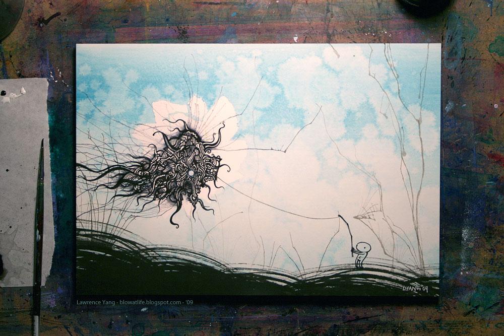 Big Fish Artwork By Lawrence Yang