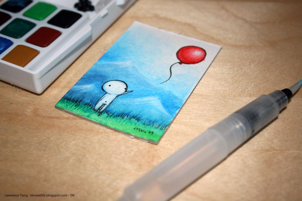 Blow At Life Mini Balloon