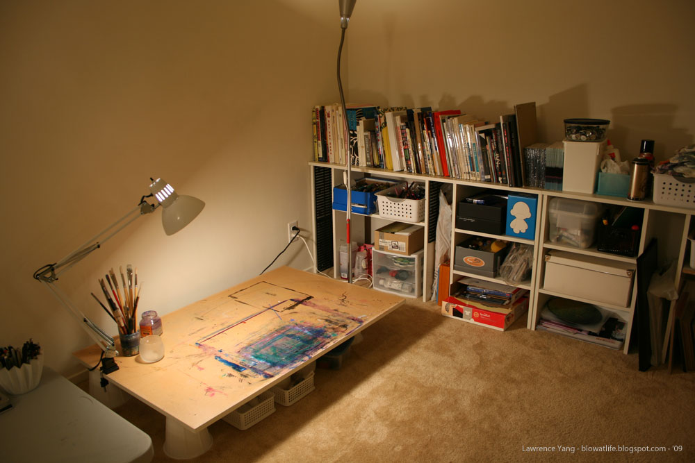 Creating a home art studio - Home art studio ...